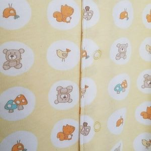 Babies R Us Pajamas 3 Pc Newborn Sleeper Set Poshmark